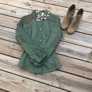 Jackets & Blazers - Women's Cotton twill lightweight jacket/shirt.
